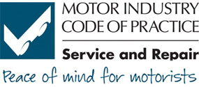 Motor Industry code of practice - Serice and Repair. Click to rate this garage